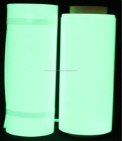 self-adhesive glow in dark sticker film/glow in dark sticker