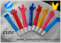 promotional cute hand shape ball pen,mini ball pen refill