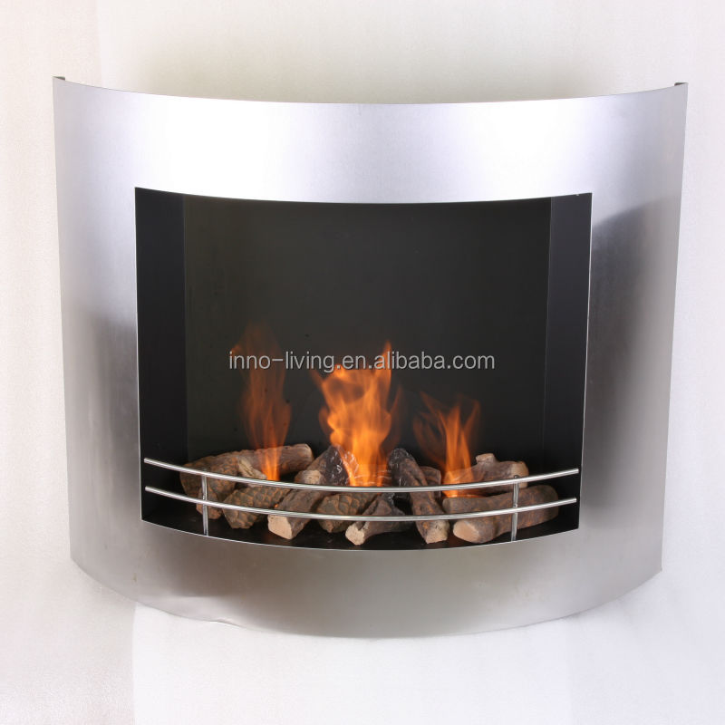 Wall Mounted Steel Gel Fireplace Ethanol Fireplace Buy