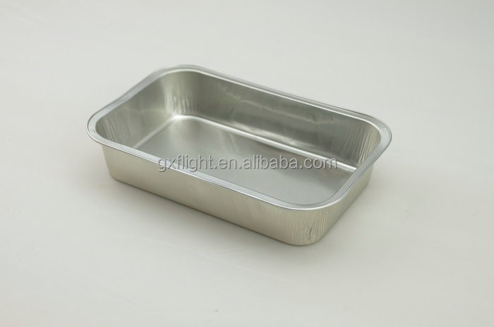 FS airline disposable rectangle aluminum foil food tray