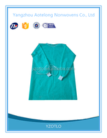 For free sample! low price nonwoven hospital sterile disposable isolation gown!