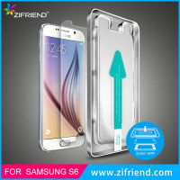 Easy Install 9H Hardness 0.33mm Tempered Glass Screen Protector for Samsung S6