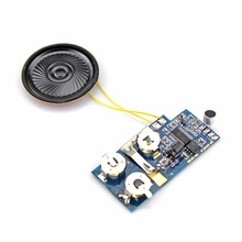 Loudspeaker sound module pre-record voice chip for greeting card