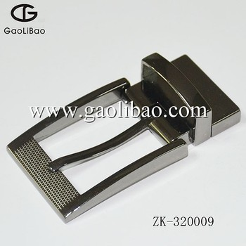 32MM Zinc alloy pin turning belt buckles Hot selling pin buckle sfor men ZK-320009