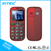 Big Keypad 3G WCDMA senior mobile phone with SOS Buttons