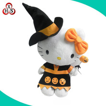 New arrival wholesale plush soft doll plush stuffed Halloween witch dolls
