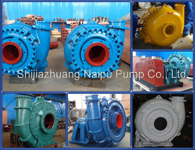 Hebei Manufacture Chrome Alloy Material River Sand Gravel Suction Pump for Dredging