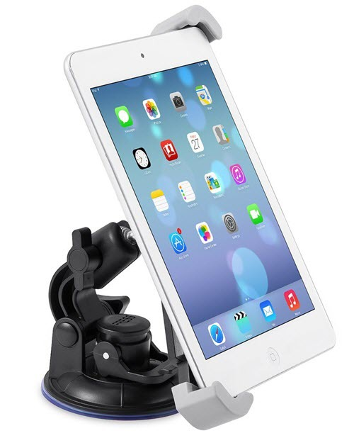 Universal Car Windshield Stand Mount Cradle Bracket Holder soporte movil for iPad 2 3 4 Mini 7-10.5inch Tablet PC Support GPS