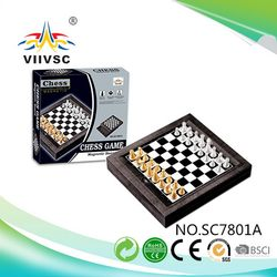 Direct Factory Price super quality travel plastic craft chess