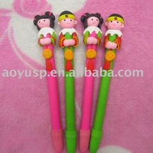 Polymer clay chinese classic ball pen