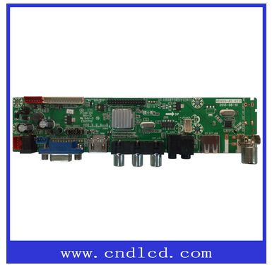 Led screen with V59 lvds compatible of Full HD TV main board
