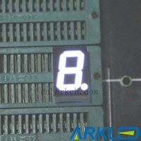 "NEW!0.56"" 7 segment digital led clock display,white color"
