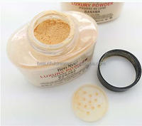 Luxury Powder 42g New Natural Face Loose Powder Waterproof Nutritious Banana Brighten Long-lasting Foundation