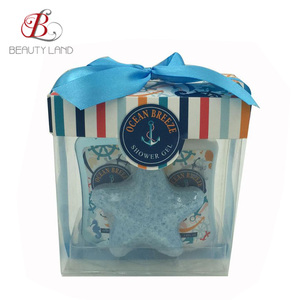 Newest Ocean Breeze spa gift kit gift shower bath spa set