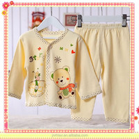 Best-selling 100% cotton newborn printed baby clothes , import-baby-clothes-china
