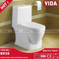 Ethiopia golden dragon sanitary ware, one piece toilet, floor trap toilet with 250mm,300mm