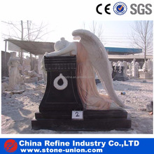 Modern design weeping angel monuments
