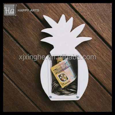 Wooden Pineapple money saving box for baby's gift