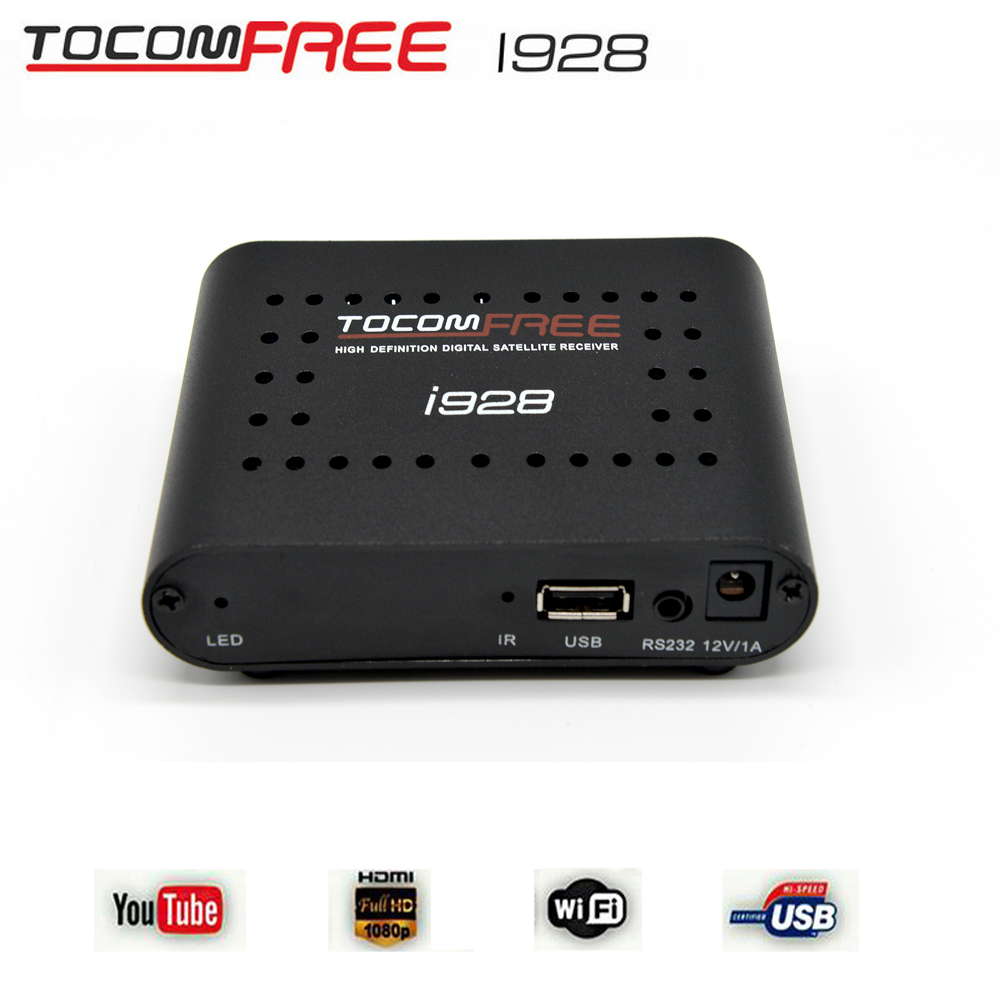 2016 Tocomfree i928 digital tv box with iks free support cccam newcam and mgcam for South America