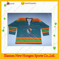 200 gsm polyester fabric ice hockey jersey