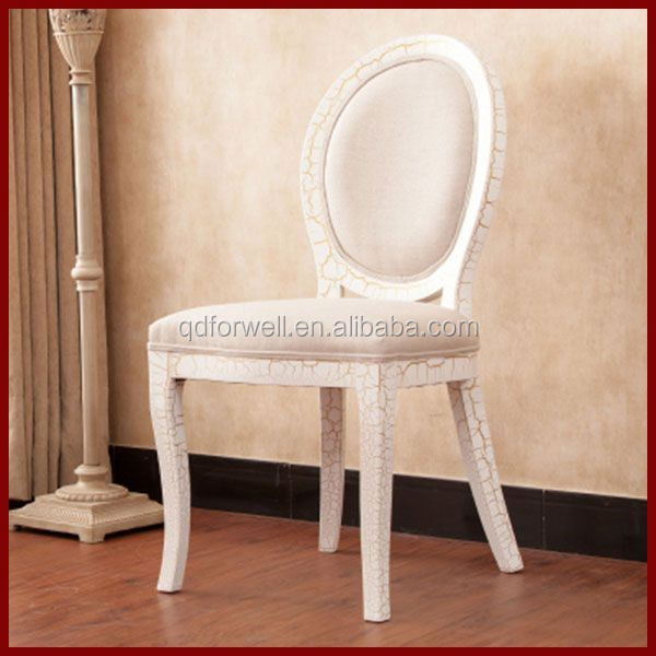 good quality 2015 design dining chair with silver leaf finish french