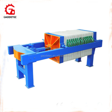 Portable Food Grade Olive Oil Plate and Frame Filter Press Machine