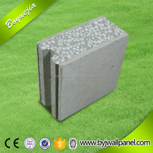 high load-bearing recycled formwork concrete eps sandwich wall board