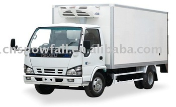 Refrigerated truck box