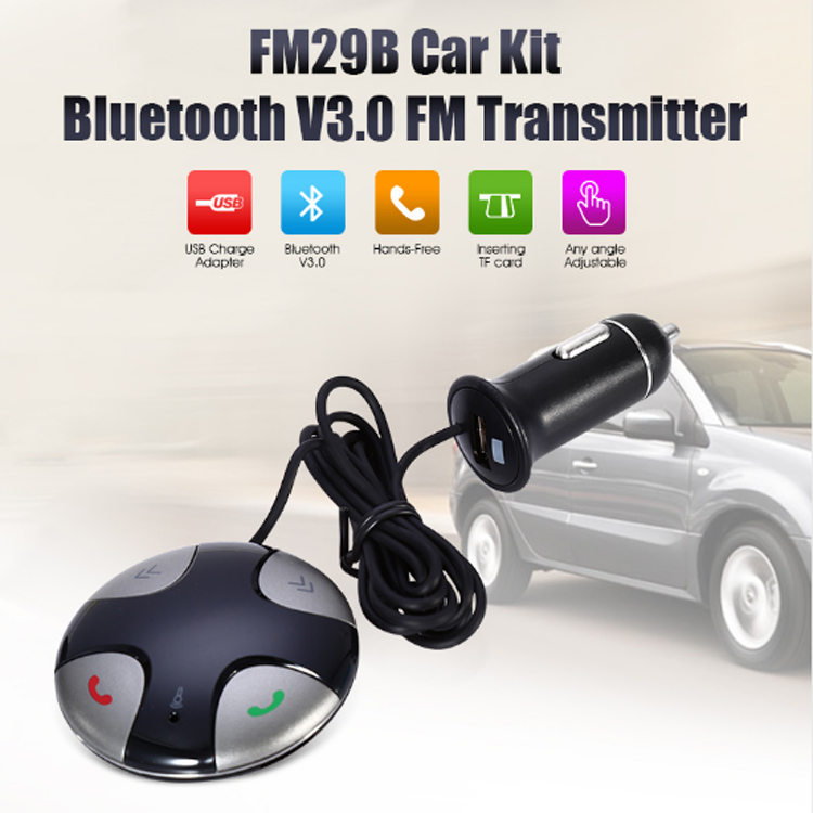 Radio Tuner Combination and CE Certification Bluetooth FM Transmitter