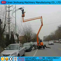 hydraulic Cherry picker man lift articulating small towable boom lift
