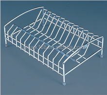 Metal Kitchen Wire Unique Table Dish Rack Or Plate Rack( 900.109.000/CWJ209B)