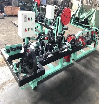 Easy operating Barbed wire making machine factory price