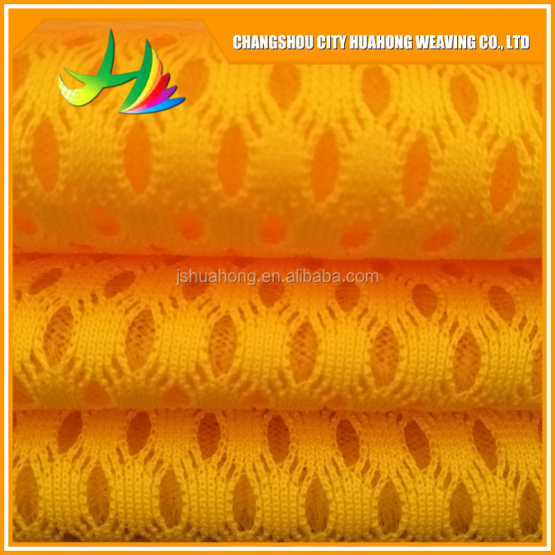 China supplier polyester seat covers 3d spacer sandwich raschel mesh fabric for car