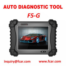 FCAR F5-G Vehicle Diagnostic Tool, passenger and light commercial car, tpms, ECM/PCM change matching, injector test