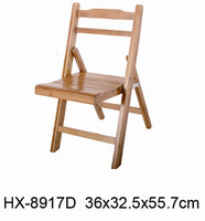 Small Foldable Bamboo Children Chair