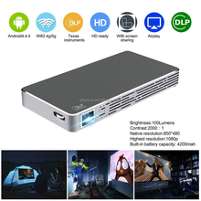 Compact light weight smart pocket led HD projector