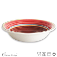 Hand Painted Ceramic Soup Bowl
