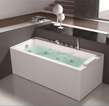 New Acrylic Corner Rectangular Whirlpool Massage Jetted Adult Folding Portable Bath Tubs Bathtubs for Adults with Sizes
