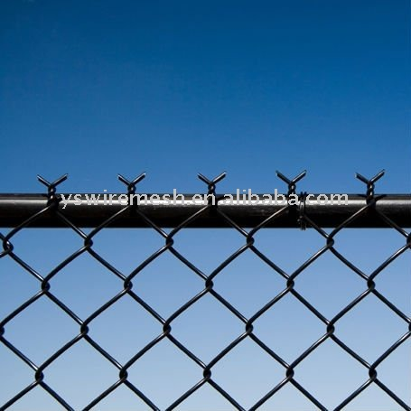 pvc residential chain link fence/chain link wire mesh/pvc coated chain link mesh