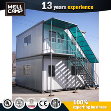 NO.1 Sale Luxury Living Prefab Container Home In Government Labour Camp Project