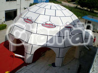 Multi used inflatable lawn dome and square tents 12m