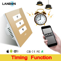 Smart Wi-Fi Light Conrtoller Wall Switch Intellegent Remote Turn on/off Touch Light Switch