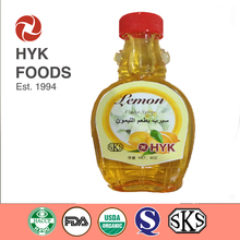 8oz cheap Lemon Flavor Syrup for sweetener use with high quality /sugar free / pulp type /customized package