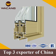Aluminum extrusion profile for the caravan window and door