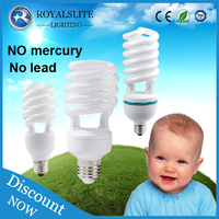 Compact fluorescent lamp E27&B22 energy saving lamp half spiral full spiral Energy Saver Bulbs