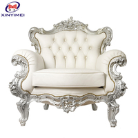 Best quality antique king chair, king chair, lion king chair XYM-H97