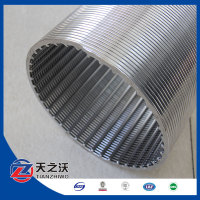 1mm Slot Size Deep Water Well Screen Galvanized steel pipe