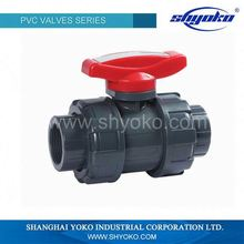 Big flow rateball valve buyer pvc ball valve