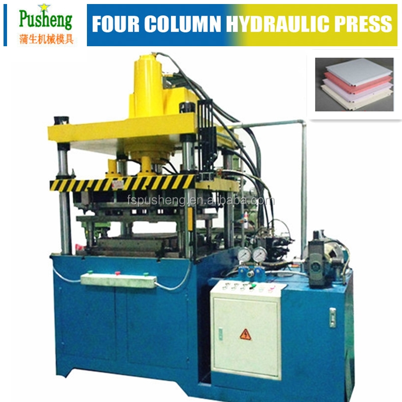 40 - 100 tons extrusion hydraulic press hydraulic press machine for aluminum ceiling tiles forming