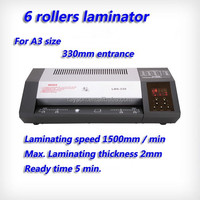 "book cover hot sale laminator 12"" laminator Rayson LM6-330, laminating machine"